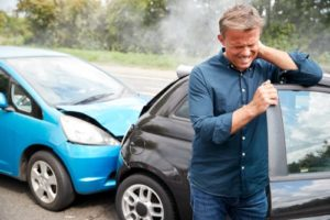 What are the symptoms of whiplash from rear end collision?